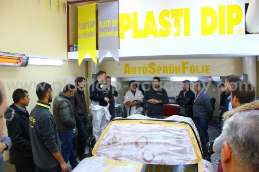 Plasti Dip Academy Dip Course Workshop in Istanbul